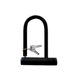 Bicycle U Locks UK - U Lock Bike Bicycle Motorcycle Cycling Scooter Security Steel Chain + 2 Keys New 3 #562531