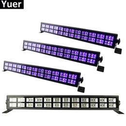 $enCountryForm.capitalKeyWord Australia - 24 LEDS UV Color LED Stage Wash Effect Lights 90-240V Perfect For DJ Disco Lamp Home Party Laser Decorations UV Led Bar Lights