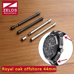 royal offshore watches 2019 - watch Screw tube For AP ROO royal-oak-offshore 44mm Schumacher watch case link kit rod screwbar 26400 26568 parts cheap