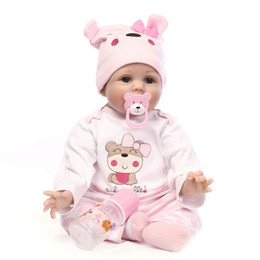 $enCountryForm.capitalKeyWord Canada - 40CM Silicone Reborn Boneca Realista Fashion Baby Dolls Kids Birthday Gift Bebes Reborn Dolls For Girls Toys