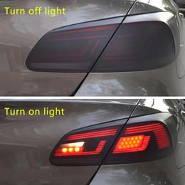 color changing car lights 2019 - Car-Styling 30*150cm Matt Smoke Light Film Car Matte Black Tint Headlight Taillight Fog Light Vinyl Film Rear Lamp Tinti