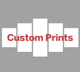 Spray Can Painting Australia - Custom Canvas HD Prints Paintings Wall Art Home Decor 5 Pieces Welcome Dropshipping Wholesale We Can Provide All The Pictures