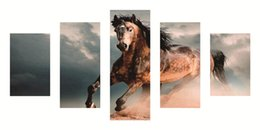 horses painting frame 2019 - Full round diamond painting cross stitch Kits panel 5D diy diamond embroidery mosaic pattern Fine horse picture home Dec