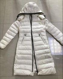 $enCountryForm.capitalKeyWord Australia - New Luxury Classic Brand Women Winter Warm Down Jacket Dress Jackets Womens Outdoor Down Coat Woman Fashion Thin long Jacket Parkas