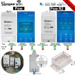 Real Camera Australia - Sonoff Pow R2 Smart Wifi Switch Controller With Real Time Power Consumption Measurement 16A 3500w Smart Home Device Android IOS