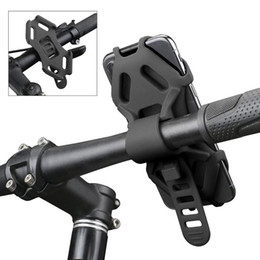 $enCountryForm.capitalKeyWord Australia - Silicone Bike Mobile Cell Phone Mount Holder for Motorcycle  Bicycle Handlebar Adjustable for iPhone X  8   8 Plus