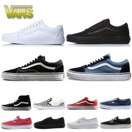 Pvc sneakers online shopping - 2020 fear of god men women canvas van baskets triple black white old skool sk8 mens fashion skateboard sneakers casual running shoes