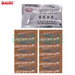 $enCountryForm.capitalKeyWord Australia - JB 11# 23# Surgical Blades Scalpel Knife Blade for Industrial Use PCB Circuit Board Phone Screen Repair Tools 500 bag lot
