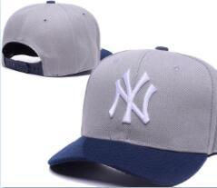 $enCountryForm.capitalKeyWord Australia - Top Quality Cheap Snapback New York Cap NY Logo classic bone Baseball Cap Embroidered Team Size Fans Flat&Curved Brim for Adult hat cap 04