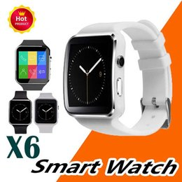child gps tracker bluetooth smart watch NZ - New Arrival X6 Smart Watch Men for Children Camera Clock Support SIM TF Card Bluetooth Smartwatch for iPhone Xiaomi Android