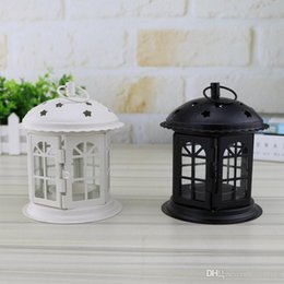 $enCountryForm.capitalKeyWord Australia - Candle Holder Lantern Retro Home Decoration For Party Bars Wedding Birthday Xmas Christams Star Iron Lamp Candlestick HH7-1535