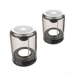 Split Audio NZ - TWS Wireless Bluetooth Speaker Waterproof Truly Magnetic Suction Bluetooth Speaker Split surround sound system One On Two Mini Outdoor Pair