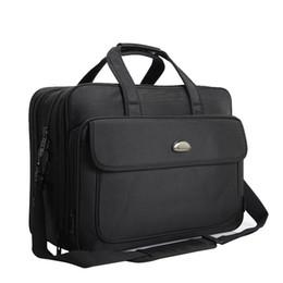 $enCountryForm.capitalKeyWord UK - 17 Inches Large Briefcase Black Extensible Business Bag Men Waterproof Computer Laptop Men Bag Y19051802