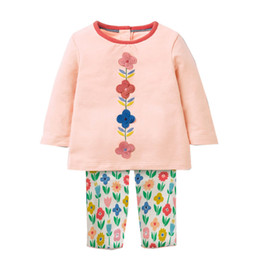 Chinese  Baby Girls Cotton Clothes Animal Appliques Boys Clothing Children Spring Clothing Set Back to School Fashion Kids Long Sleeve Clothes manufacturers