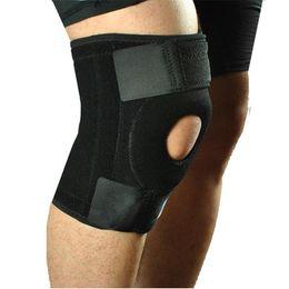 NeopreNe kNee support patella online shopping - Motorcycle Protective kneepad Elastic Neoprene Patella Brace Knee Belt Support Fastener Adjustable Strap