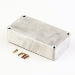 guitar pedal enclosures Canada - 1Pcs Stomp Box Effects 1590B 1590A Style Aluminum Pedal Enclosure FOR Guitar sell Dropshipping