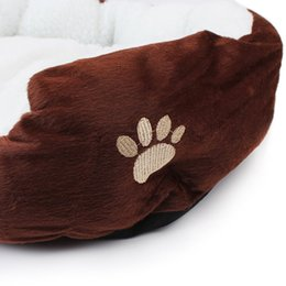 nest beds for dogs Canada - S L size Pet Dog Warming Bed Dog House Soft Material Nest Dog Baskets Fall and Winter Warm Kennel For Cat Puppy