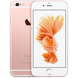 camera 12mp Australia - DHL Refurbished Original Unlocked Iphone 6s Mobile phone 4G LTE 4.7 inches IOS 2GB RAM 16GB 64GB 128GB ROM 12MP 2160p 1715mAh cellphone