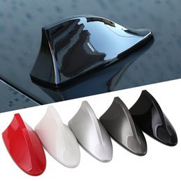 Discount shark antennas for cars - 1x Car Shark fin antenna antena For Mitsubishi Asx Lancer 10 Outlander Pajero Sport 9 L200 Colt Carisma Galant Grandis