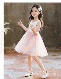 $enCountryForm.capitalKeyWord Australia - Girls dress princess dress 2019 summer new children's skirt girl baby little girl western summer children's wear