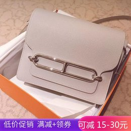 $enCountryForm.capitalKeyWord UK - Belle2019 The Nose Of A Pig You Bean Curd Genuine Leather Woman Single Shoulder Messenger Small Square Package