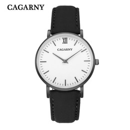 mens 52mm watches UK - 52MM Classy Big Case Watch For Men Stainless Steel Band Casual Mens Quartz Watches Cagarny Waterproof Military Relogio Masculino