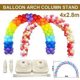 $enCountryForm.capitalKeyWord Australia - 4x2.8m Balloon Arch Stand Base Pot Kit Clip Connector Wedding Party Celebration Supplies Adjustable Diy Ball Arch Support Decor J190706