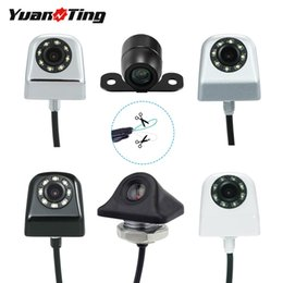 front parking camera UK - ar DVR Vehicle Camera YuanTing Car Front Side Rear View Reverse Forward Camera Waterproof HD Distance Scale Lines for Auto Parking Sensor...