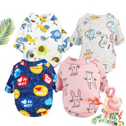 Cute Outfits For Spring Australia - Cute Dog Clothes Autumn Dogs Sweater Fashion Sportswear Coat Puppies Small Pets Puppy Clothing for Dog Classic Cat Outfit Pet Supplier XS~XL