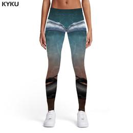 $enCountryForm.capitalKeyWord Australia - KYKU Squid Leggings Women Animal Printed pants Fish 3d Print Yin Yang Sexy Harajuku Sport Womens Leggings Pants Casual Jeggins
