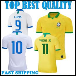 9af40039edb Thailand 2019 2020 america Cup Brazil home away soccer jersey FIRMINO  neymar jr Brasil camiseta de fútbol COUTINHO VINICIUS football shirt