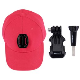 $enCountryForm.capitalKeyWord UK - PULUZ GoPro accessories canvas baseball cap with hook screw mounting buckle for DJI Osmo belong to the rc toys