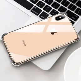 $enCountryForm.capitalKeyWord Australia - For Iphone 8 7 6 Plus X XR XS MAX 5 SE2 Thickened Anti Drop Acrylic Bumper TPU Shockproof Protective Phone Case Cover Free Shipping