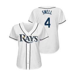 22cb37691b7 Womens Blake Snell Kevin Kiermaier Custom Rays Jersey Stitched Matt Duffy  Joey Wendle Wade Boggs Austin Meadows Tampa Bay Baseball Jerseys