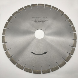 $enCountryForm.capitalKeyWord Australia - Diamond Silent Core Saw Blade 16 inch (400 mm) for Granite Stone Bridge Saw Machine Cutting Disc inner Hole 50 60 mm Segment Height 15 mm