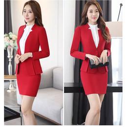$enCountryForm.capitalKeyWord Australia - Women Suits Blazer Dress Special Occasion Dress Suits For Women Formal Cress office se