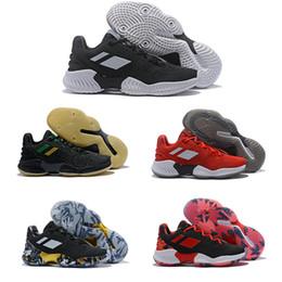 82363628bf4b3 2019 Joel Embiid Porzingis Mitchell Pro Bounce Low Zapatillas de baloncesto para  Zapatillas de entrenamiento para hombre de calidad superior Negro Rojo ...