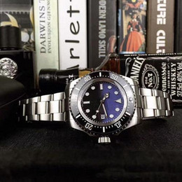 44mm Ceramic Bezel Australia - HOT Luxury Men Watch SEA-DWELLER Ceramic Bezel 44mm Stanless Steel 116660 Automatic High Quality Business Casual Mens Watch Wristwatches