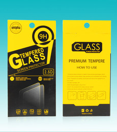 Wholesale Boxes Packaging Australia - Empty Screen Protector Retail Package Paper Boxes Display Packaging for Tempered Glass 9H 2.5D For iPhone 8 Plus X XS Max