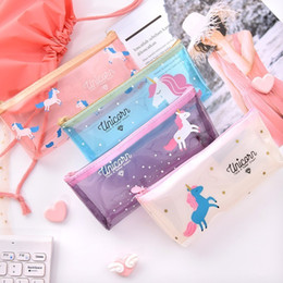 magic pencils 2019 - Songyuexia Kawaii 1pcs Pony Pencil Case For Girls School Supplies Super Big School Stationery Gift Magic Pencil Box Penc