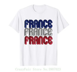 Cheap Cotton Flags Australia - France Soccerite Jersey Shirt Flag French Men Women Kid Size Cheap Sale 100 % Cotton T Shirts For Boys