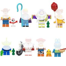 $enCountryForm.capitalKeyWord NZ - Mini Toy Figure Pump Buzz Woody Jessie The Yodeling Cowgirl Alien Ducky Bo Peep Gaby Baby Duke Caboom Building Block Toy For Children