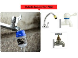 Simple Gadgets NZ - Home Simple Water Tap Fiteration Active Carbon Portable Water Purifier Water Faucet Sprayer Kitchen Bathroom Gadgets
