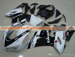 Body Ninja Zx Australia - 3 Free gifts New Fairing kits for 05 06 ZX 6R 636 2005 2006 Ninja ZX6R ZX636 ABS fairings Body kits hot sales white black elf