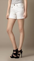 White Shorts Australia - Womens Shorts Big Size Pure White Breathable Ladies Shorts Women Sexy Shorts Trendy Street Cowboy Hot Pants