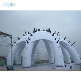 inflatable show Australia - High quality Commercial Outdoor Inflatable Giant Advertising Tent Octopus Tent Inflatable Promotion Tent For Trade Show