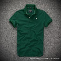 Plus sized tshirts online shopping - 2018 New Men Collar Tshirts T Shirt Men Slim Fit Solid Color Fitness Casual Tops Cotton Tshirt High Quality Plus Size
