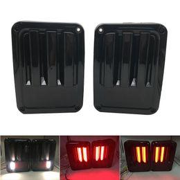 LED Luz de señal de giro UE / EE. UU. Lámpara de marcha atrás para Jeep Wrangler JK Luz de cola LED con freno Luz de marcha atrás en venta