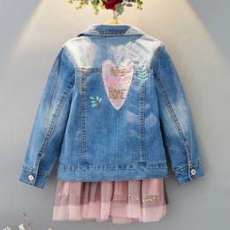 $enCountryForm.capitalKeyWord Australia - fashion 2019 denim jacket girl children spring autumn jacket kids clothes girl coat toddler outerwear jean jacket 5 years