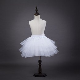 $enCountryForm.capitalKeyWord Australia - 2018 wholesale Short Length Petticoat Dress Girls Retro Vintage Swing Rockabilly Hoop White Wedding Petticoat Crinolines